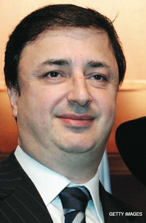 LEVIEV: Mogul left for London.
