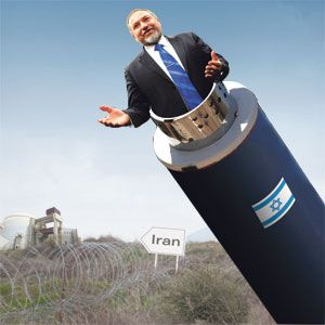 Mutual Assured Demagoguery: Avigdor Lieberman will not shake the hand of any Iranian mullahs he passes as they simultaneously retaliate against his attack.
