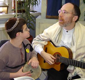 Singing Ability: Lior Liebling, a teenager with Down's Syndrome, is the subject of a new film.