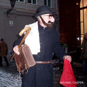'Going as a Jew?: Each year in the capital, Lithuanians celebrate the holiday of Uzgavenes by dressing up and acting, in rather unflattering ways, ?as Jews.?