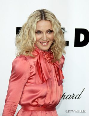 MATERIAL GIRL: The pop star plans to make a film about the Israeli-Palestinian conflict.