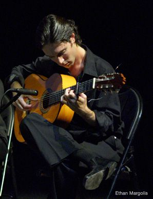 OLÉ!: Though he didn't take up the guitar until he was 17, Ethan Margolis is now a leading figure in the world of flamenco