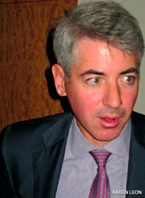 On the Panel: William Ackman spoke at the event.