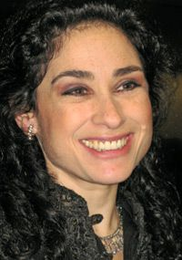 Diva: Rinat Shaham performed at the event.