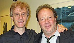 Binyumen Schaechter with Avi Hoffman