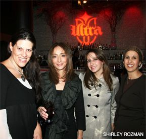 LOOKING FOR LOVE: Ziva Kramer (right), a ?relationship expert,? offered advice to women at a recent event.