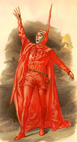 Sulphur and Spandex: Sir Henry Irving dressed as Mephistopheles in 1885