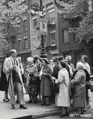 WALK THIS WAY: A walking tour of New York?s Greenwich Village, circa 1956.