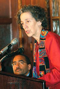 Working Together: Ruth Messinger, an early organizer.