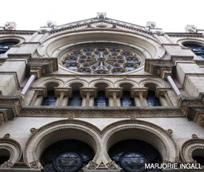 FACADE: The historic Eldridge Street Synagogue, located on the Lower East Side.