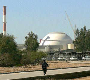 Bushehr nuclear power plant, February 2006