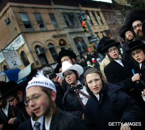 Crowded: The crowded and expensive confines of Brooklyn are leading some Orthodox Jews to look into relocating.