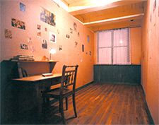 Less Is More: Otsuka?s Holocaust Education Center employs a restrained Japanese style to represent the atrocities of the Holocaust. Above, an exact replica of the room where Anne Frank once hid.