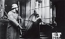 Secret Archives: Pope Pius XII leaves the presidential palace in Berlin in December 1929.