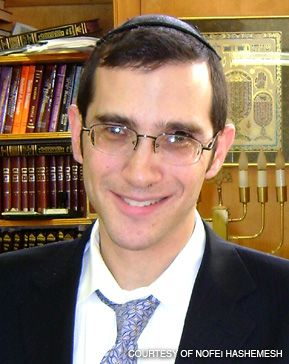 AMERICAN IMPORT: Rabbi Shalom Rosner is the big draw for an Israeli real-estate development.
