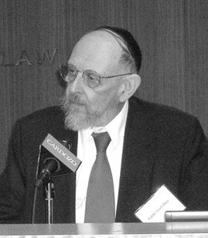 Go To the Cops: Rabbi Yosef Blau decries taboo.