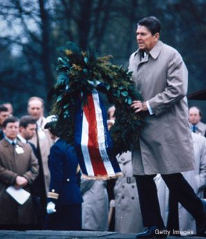 Recently published diary entries offer new - and perhaps even more troubling - insight into the former president's decision to visit the graves of World War II German soldiers