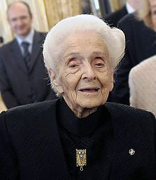 Rita Levi-Montalcini conducted scientific research in her bedroom that ultimately led to a Nobel Prize.