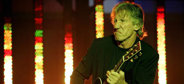 Breaking Walls, or Making Walls? Roger Waters performs in Neve Shalom, Israel, in 2006.