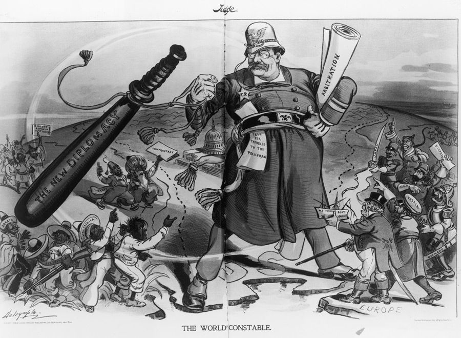 We?re So Chosen: Teddy Roosevelt revels in what he saw as America?s God-given power.