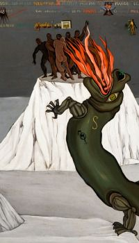 Dada-ist Dragon: Painter Victor Brauner found fame not as a Dadaist but later as a Surrealist.