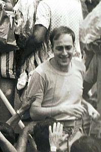 Returning Hero: Arik Avneri returning to Israel after being freed during Yom Kippur War.