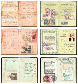 Passports To Nowhere: Zeina Barakeh?s art shows how her family has been routinely categorized.
