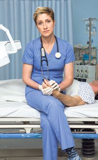 It?s Complicated: Edie Falco plays the title character on the current TV drama ?Nurse Jackie.?