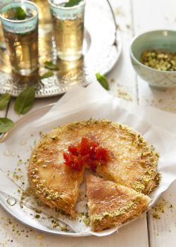 Arab Home Cooking: Knafeh, a Palestinian dessert stuffed with warm goat cheese, is one of the most popular dishes at Haim Cohen?s new Jaffa/Tel Aviv restaurant.