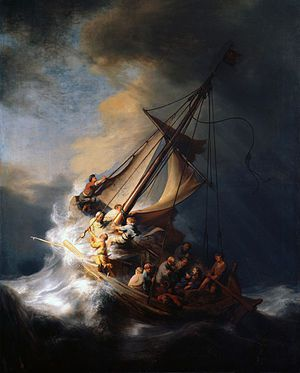 Rembrandt?s ?Storm on the Sea of Galilee?