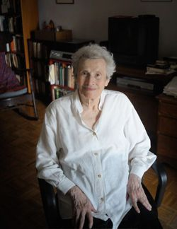 Blithe Spirit: 94-year-old Naomi Replansky published her first poems in 1936.