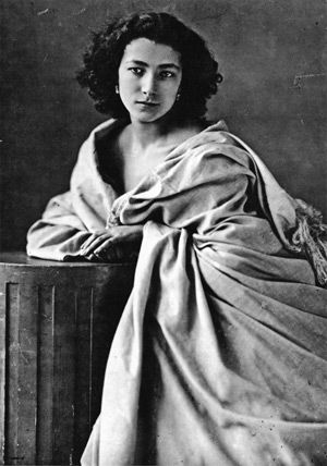 Captured Uncaptured: A young Sarah Bernhardt was preserved for posterity by the famous photographer Félix Nadar.