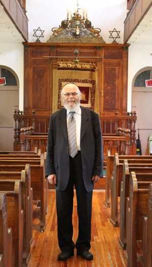 Kol Israel: Rabbi Elkanah Schwartz has been tending to the synagogue, located in the gentrifying Brooklyn neighborhood of Prospect Heights and built in 1927.
