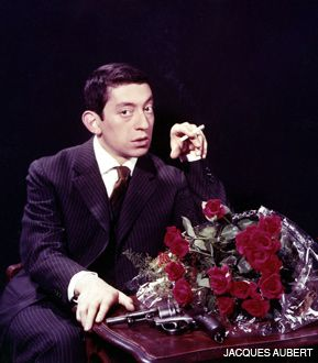GUNS AND ROSES: Decades before Axl Rose, Serge Gainsbourg was living a life of extreme, if elegant, depravity.