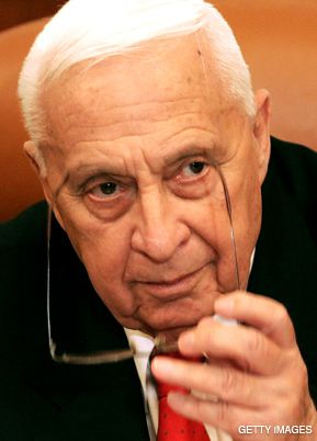 HIS LEGACY: Though comatose from a stroke, Ariel Sharon, pictured the day he was struck down, is still leaving his mark.