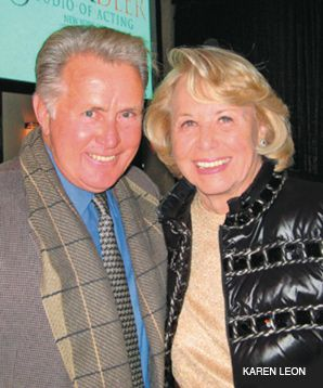 Spotlight: Martin Sheen and Liz Smith attended the event.