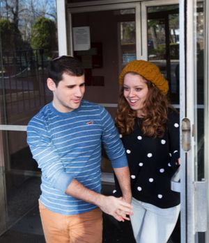 Going Home: Simi and Jeremy try to split time between their parents? homes evenly.