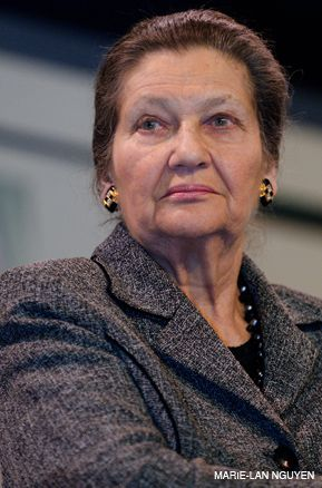 GRETA GARBO MEETS ELIE WIESEL: Simone Veil?s beauty helped her survive the Holocaust: her frankness, resolve, and ability made her a political success in postwar France.
