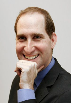 Collaborating: Simon Greer, the president and CEO of Jewish Funds for Justice.