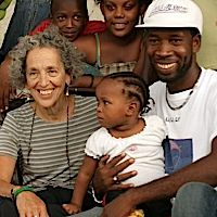 Ruth Messinger in Haiti last August.
