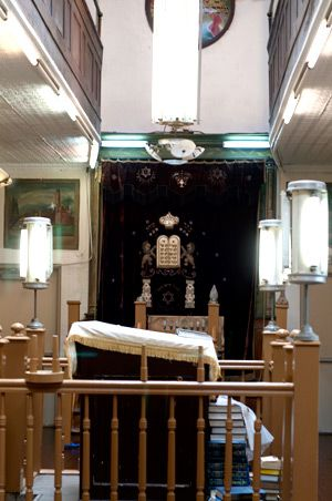 Neighborhood Institution: The Stanton Street Shul, once a workingman?s synagogue, has fallen into disrepair.