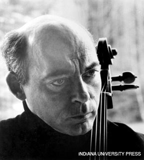 DISSONANCE: Cellist János Starker's combination of severe control in music and unbridled self-expression offstage has baffled more than one observer.