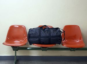 Say Something: For Michael Peck, an unclaimed bag proved to be an important anti-terrorism lesson.