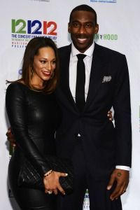 Amar?e Stoudemire and Alexis Welch