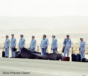 'THE BAND VISIT': A new Israeli offering looses an Egyptian police band in a small Negev village