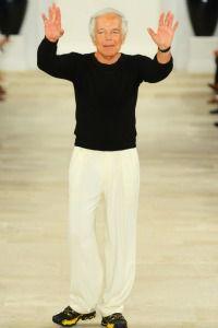 Ralph Lauren at Fashion Week.