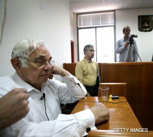 TALANSKY: Testified that he gave Olmert cash-stuffed envelopes.