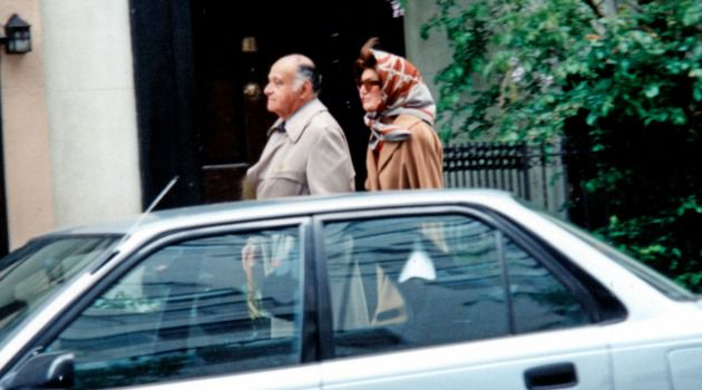 Maurice Tempelsman and Jackie Onassis