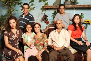 FOUND IN TRANSLATION: The cast of 'Arab Labor,' a prime-time Arabic-language sitcom that is one of the top 10 shows in Israel.