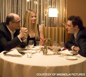 FAMILY MATTERS: Elias Koteas (left), Gwyneth Paltrow and Joaquin Phoenix star in ?Two Lovers,? a new film by James Gray.